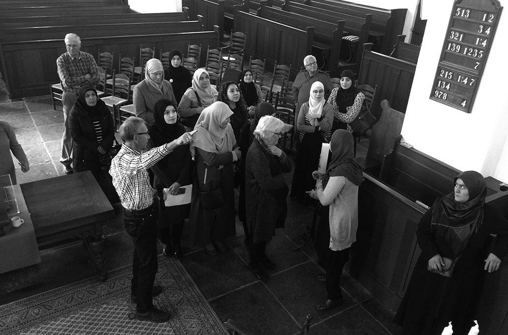 Ontmoeting met moslima's in de  Oudshoornse Kerk